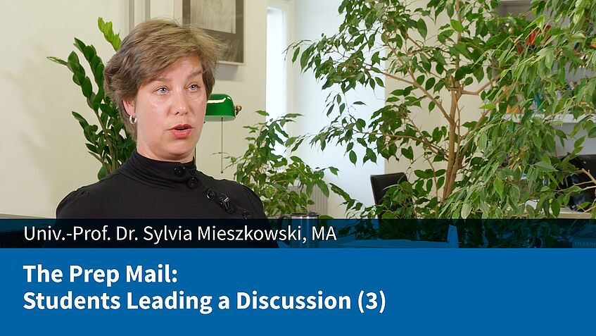 The Prep Mail: Students Leading a Discussion (3) (Sylvia Mieszkowski)